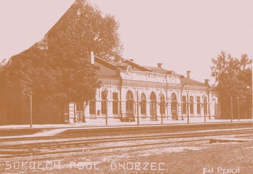 Dworzec PKP stara fot.